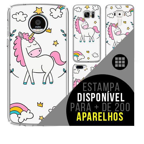 Capa de celular - Unicórnio 16 [disponível para + de 200 aparelhos]
