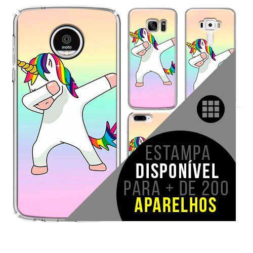 Capa de celular - Unicórnio 19 [disponível para + de 200 aparelhos]