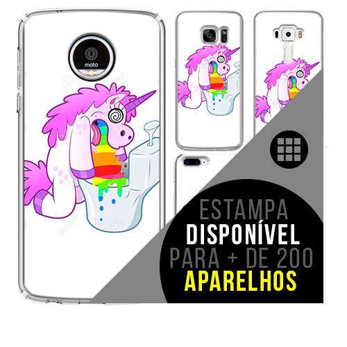 Capa de celular - 22 Unicórnio [disponível para + de 200 aparelhos]