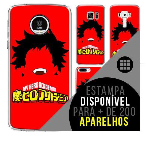 Capa de celular boku-no-hero 2 - [disponível para + de 200 aparelhos]