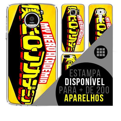 Capa de celular boku-no-hero 3 - [disponível para + de 200 aparelhos]