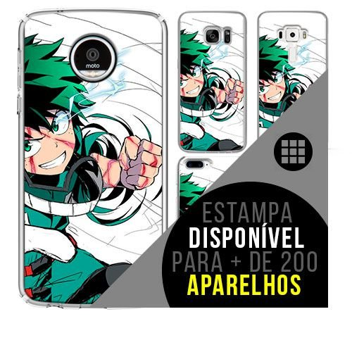 Capa de celular boku-no-hero - Izuku-Midoriya 16 [disponível para + de 200 aparelhos]