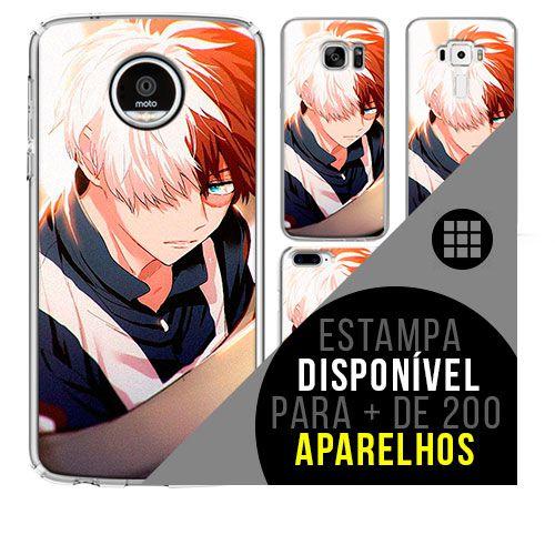 Capa de celular boku-no-hero - Shoto-Todoroki 22 [disponível para + de 200 aparelhos]