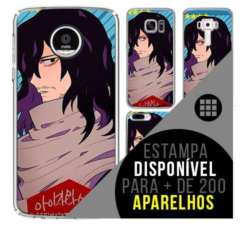 Capa de celular boku-no-hero - Shota-Aizawa 31 [disponível para + de 200 aparelhos]