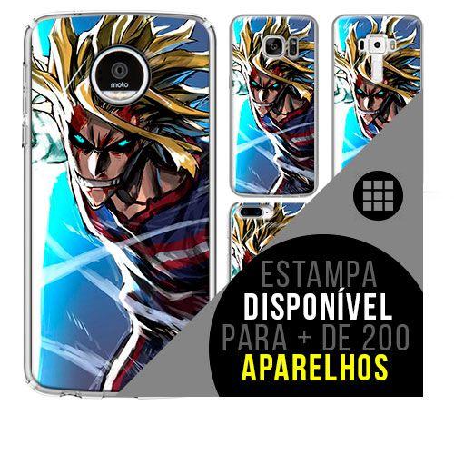 Capa de celular boku-no-hero - All-Might 34 [disponível para + de 200 aparelhos]