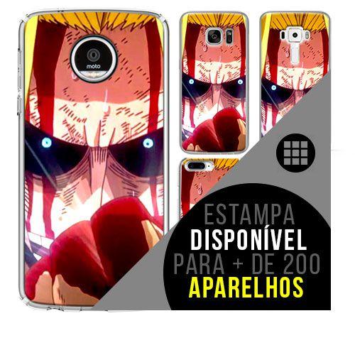 Capa de celular boku-no-hero - All-Might 38 [disponível para + de 200 aparelhos]