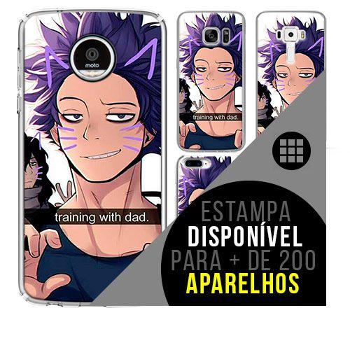 Capa de celular boku-no-hero - Hitoshi-Shinso 47 [disponível para + de 200 aparelhos]