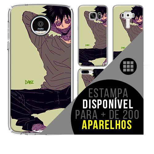 Capa de celular boku-no-hero - Hitoshi-Shinso 49 [disponível para + de 200 aparelhos]