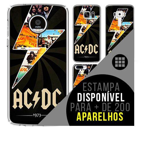 Capa de celular - ACDC 8 [disponível para + de 200 aparelhos]