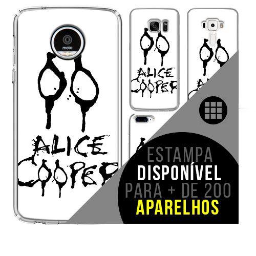Capa de celular - ALICE COOPER 2 [disponível para + de 200 aparelhos]