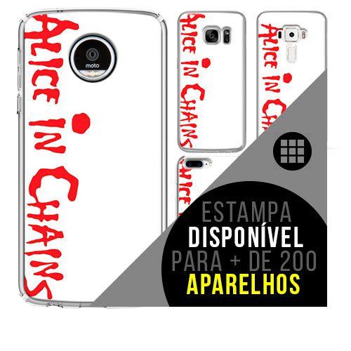 Capa de celular - ALICE IN CHAINS 2 [disponível para + de 200 aparelhos]