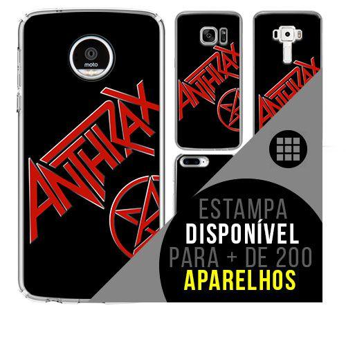Capa de celular - ANTHRAX [disponível para + de 200 aparelhos]