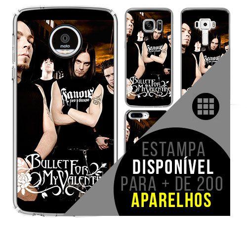 Capa de celular - BULLET FOR MY VALENTINE 3 [disponível para + de 200 aparelhos]