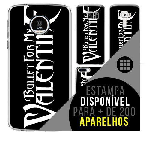 Capa de celular - BULLET FOR MY VALENTINE [disponível para + de 200 aparelhos]