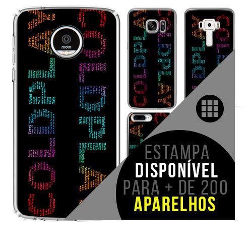 Capa de celular - COLDPLAY 5 [disponível para + de 200 aparelhos]