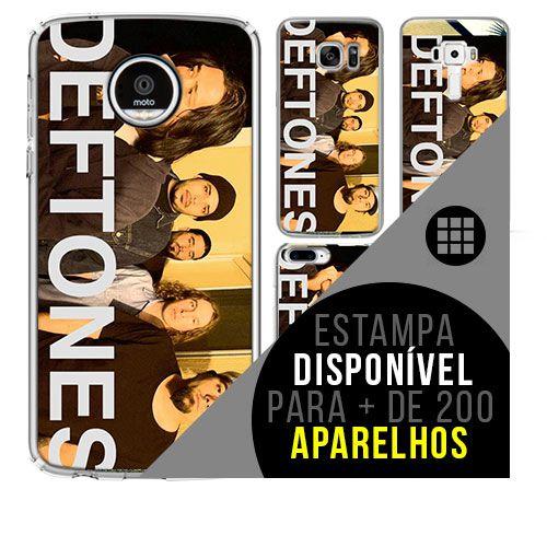 Capa de celular - DEFTONES [disponível para + de 200 aparelhos]