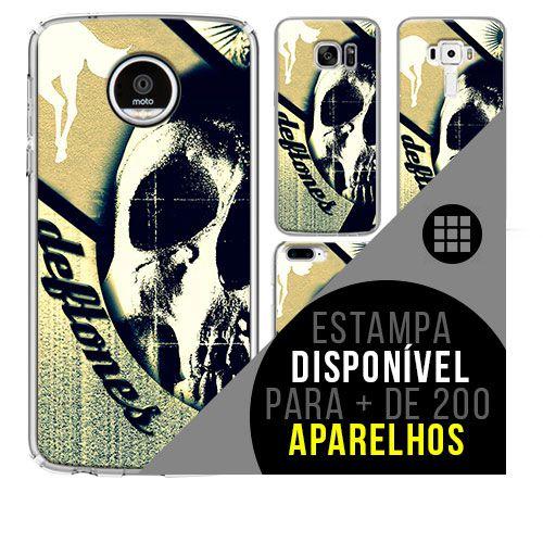 Capa de celular - DEFTONES 2 [disponível para + de 200 aparelhos]