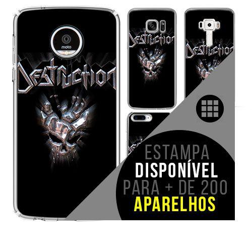Capa de celular - DESTRUCTION [disponível para + de 200 aparelhos]