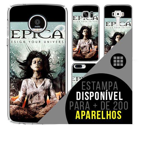 Capa de celular - EPICA [disponível para + de 200 aparelhos]