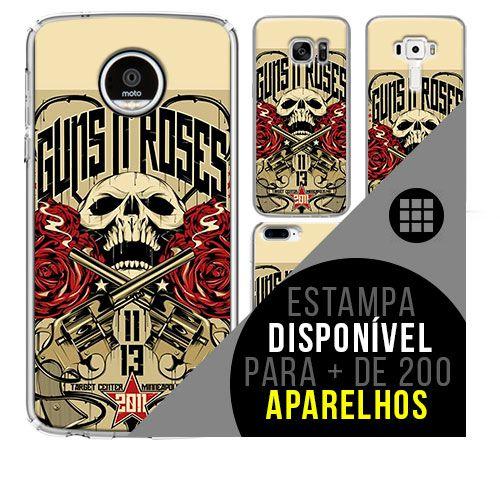 Capa de celular - GUNS N ROSES 6 [disponível para + de 200 aparelhos]