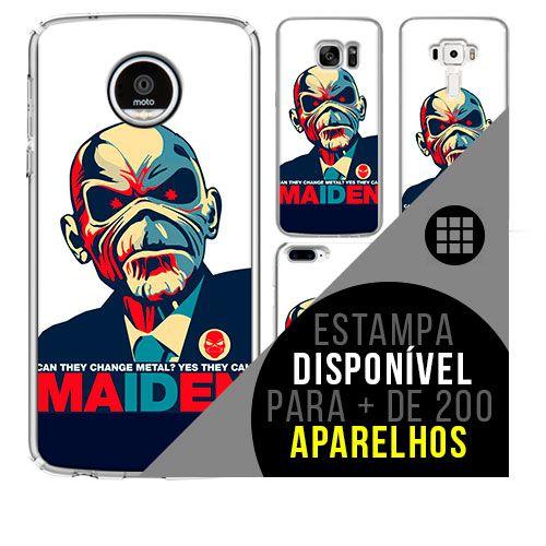 Capa de celular - IRON MAIDEN 4 [disponível para + de 200 aparelhos]