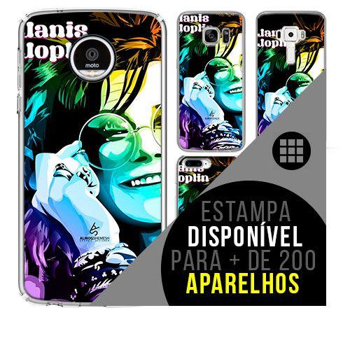 Capa de celular - JANIS JOPLIN 2 [disponível para + de 200 aparelhos]