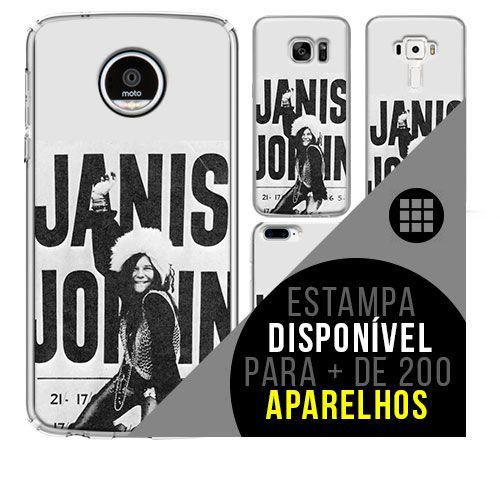 Capa de celular - JANIS JOPLIN 8 [disponível para + de 200 aparelhos]