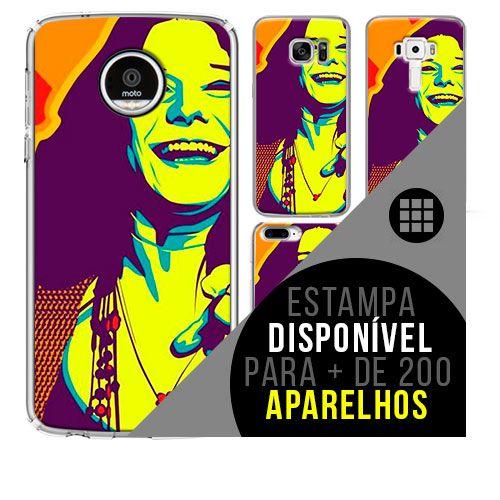 Capa de celular - JANIS JOPLIN 5 [disponível para + de 200 aparelhos]