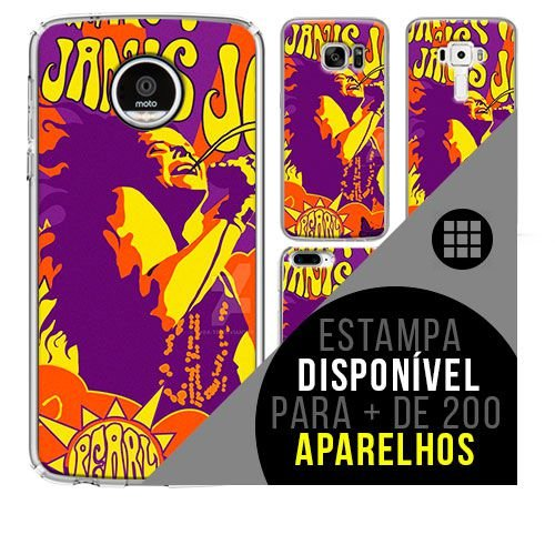 Capa de celular - JANIS JOPLIN 14 [disponível para + de 200 aparelhos]