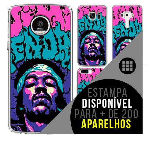 Capa de celular - JIMI HENDRIX 7 [disponível para + de 200 aparelhos]