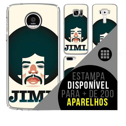 Capa de celular - JIMI HENDRIX 13 [disponível para + de 200 aparelhos]