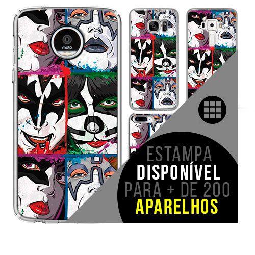 Capa de celular - KISS [disponível para + de 200 aparelhos]