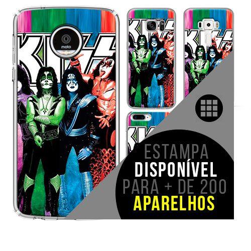 Capa de celular - KISS 7 [disponível para + de 200 aparelhos]