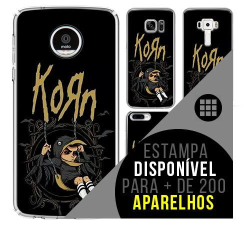 Capa de celular - KORN 7 [disponível para + de 200 aparelhos]