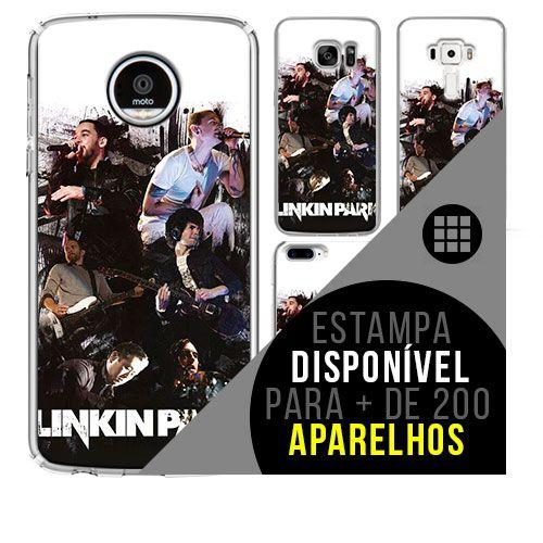 Capa de celular - LINKIN PARK 5 [disponível para + de 200 aparelhos]