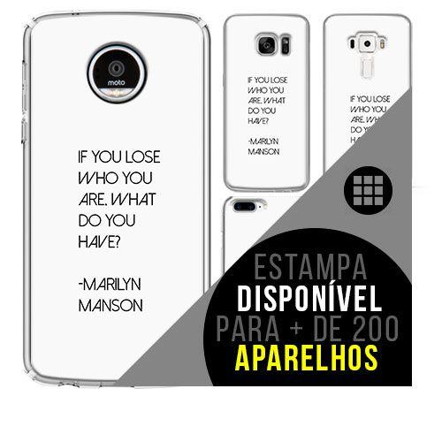 Capa de celular - MARILYN MANSON 5 [disponível para + de 200 aparelhos]
