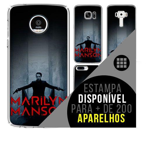 Capa de celular - MARILYN MANSON 10 [disponível para + de 200 aparelhos]