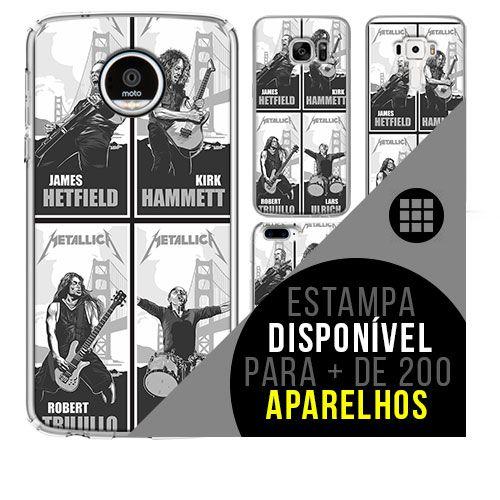 Capa de celular - METALLICA 7 [disponível  para + de 200 aparelhos]