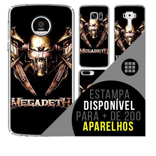 Capa de celular - MEGADETH 2 [disponível para + de 200 aparelhos]