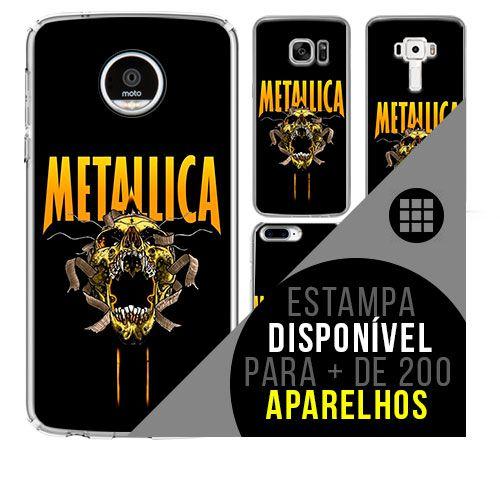 Capa de celular - METALLICA [disponível para + de 200 aparelhos]