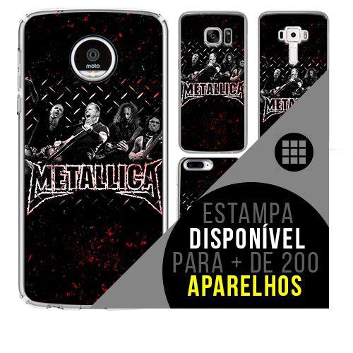 Capa de celular - METALLICA 5 [disponível para + de 200 aparelhos]