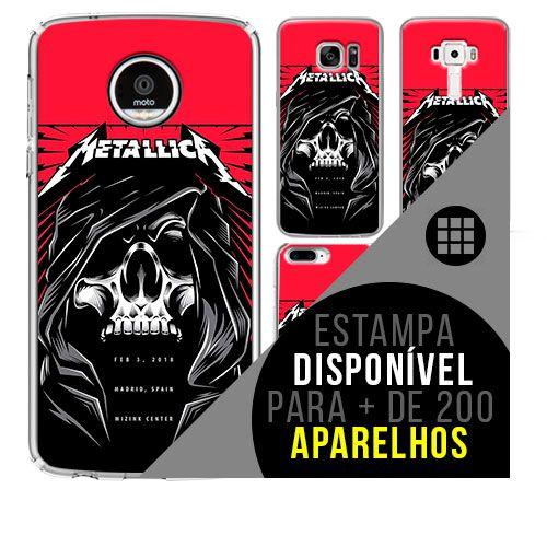 Capa de celular - METALLICA 11 [disponível para + de 200 aparelhos]