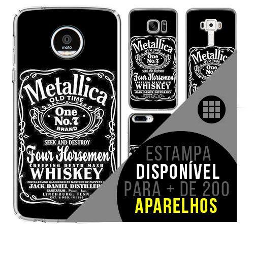 Capa de celular - METALLICA 10 [disponível para + de 200 aparelhos]
