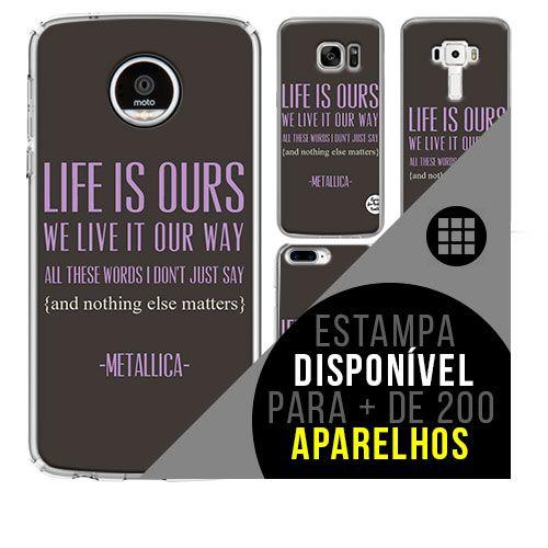 Capa de celular - METALLICA 9 [disponível para + de 200 aparelhos]
