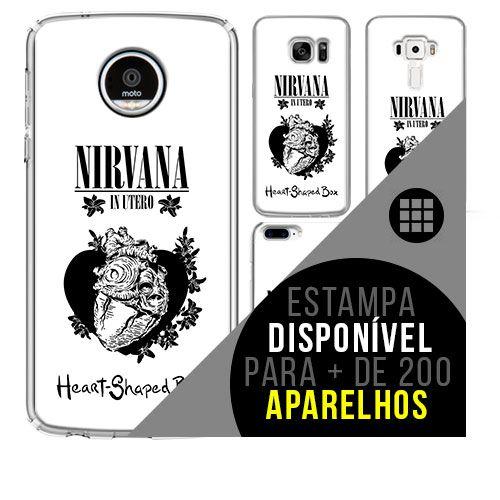Capa de celular - NIRVANA 5 [disponível para + de 200 aparelhos]