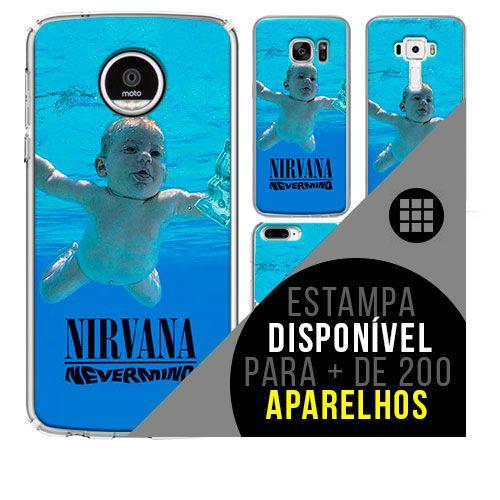 Capa de celular - NIRVANA 7 [disponível para + de 200 aparelhos]