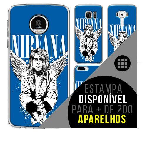 Capa de celular - NIRVANA 14 [disponível para + de 200 aparelhos]