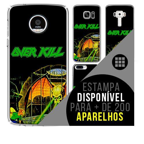Capa de celular - OVERKILL [disponível para + de 200 aparelhos]