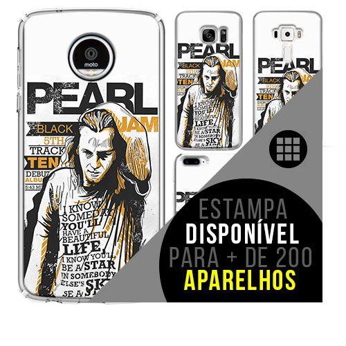 Capa de celular - PEARL JAM 10 [disponível para + de 200 aparelhos]