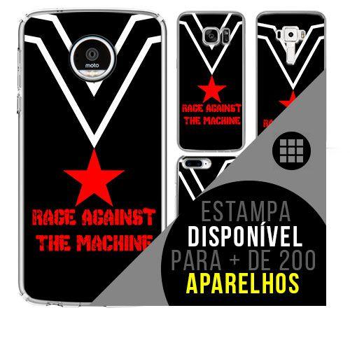 Capa de celular - RAGE AGAINST THE MACHINE [disponível para + de 200 aparelhos]